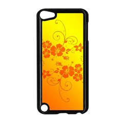 Flowers Floral Design Flora Yellow Apple Ipod Touch 5 Case (black)