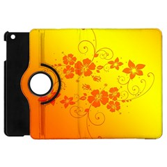 Flowers Floral Design Flora Yellow Apple Ipad Mini Flip 360 Case