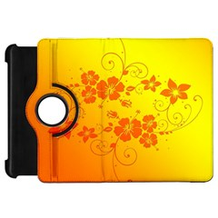 Flowers Floral Design Flora Yellow Kindle Fire Hd 7
