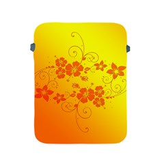 Flowers Floral Design Flora Yellow Apple iPad 2/3/4 Protective Soft Cases