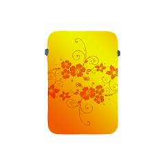 Flowers Floral Design Flora Yellow Apple Ipad Mini Protective Soft Cases