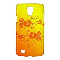 Flowers Floral Design Flora Yellow Galaxy S4 Active