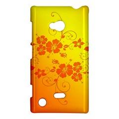 Flowers Floral Design Flora Yellow Nokia Lumia 720