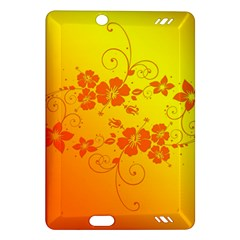 Flowers Floral Design Flora Yellow Amazon Kindle Fire Hd (2013) Hardshell Case