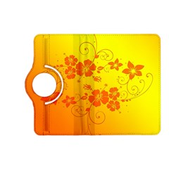 Flowers Floral Design Flora Yellow Kindle Fire Hd (2013) Flip 360 Case