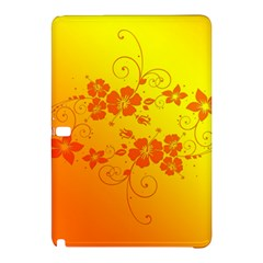 Flowers Floral Design Flora Yellow Samsung Galaxy Tab Pro 10 1 Hardshell Case
