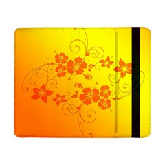 Flowers Floral Design Flora Yellow Samsung Galaxy Tab Pro 8 4  Flip Case
