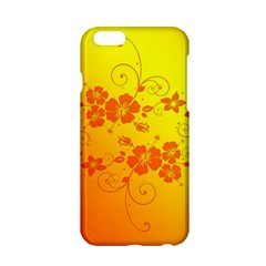Flowers Floral Design Flora Yellow Apple Iphone 6/6s Hardshell Case