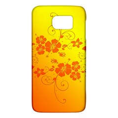 Flowers Floral Design Flora Yellow Galaxy S6
