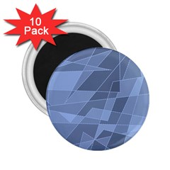 Lines Shapes Pattern Web Creative 2.25  Magnets (10 pack)