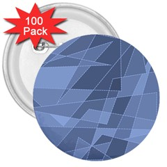 Lines Shapes Pattern Web Creative 3  Buttons (100 pack)