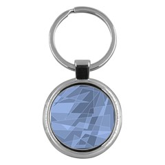Lines Shapes Pattern Web Creative Key Chains (round)