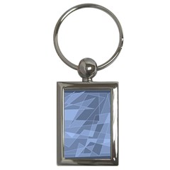 Lines Shapes Pattern Web Creative Key Chains (rectangle)