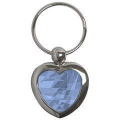 Lines Shapes Pattern Web Creative Key Chains (heart)