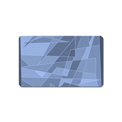 Lines Shapes Pattern Web Creative Magnet (name Card)