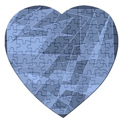 Lines Shapes Pattern Web Creative Jigsaw Puzzle (heart)