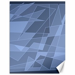 Lines Shapes Pattern Web Creative Canvas 12  x 16