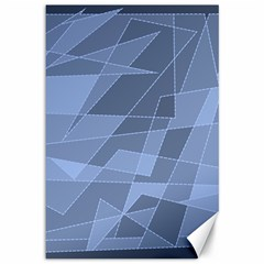 Lines Shapes Pattern Web Creative Canvas 12  X 18