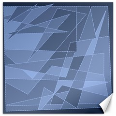 Lines Shapes Pattern Web Creative Canvas 16  X 16
