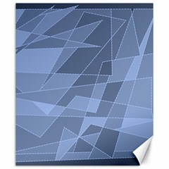 Lines Shapes Pattern Web Creative Canvas 20  X 24