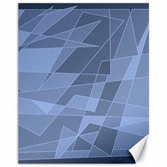 Lines Shapes Pattern Web Creative Canvas 11  X 14