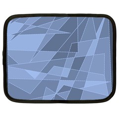 Lines Shapes Pattern Web Creative Netbook Case (large)