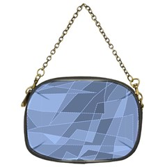 Lines Shapes Pattern Web Creative Chain Purses (one Side)