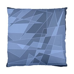 Lines Shapes Pattern Web Creative Standard Cushion Case (two Sides)