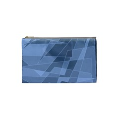 Lines Shapes Pattern Web Creative Cosmetic Bag (small)