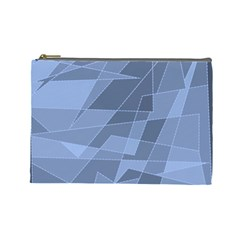 Lines Shapes Pattern Web Creative Cosmetic Bag (large)