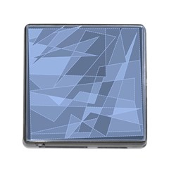 Lines Shapes Pattern Web Creative Memory Card Reader (square)