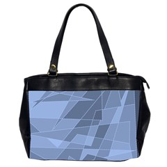 Lines Shapes Pattern Web Creative Office Handbags (2 Sides)
