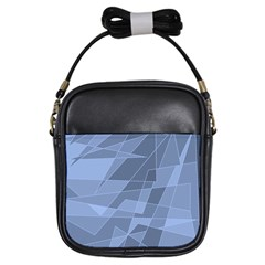 Lines Shapes Pattern Web Creative Girls Sling Bags