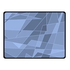 Lines Shapes Pattern Web Creative Fleece Blanket (small)