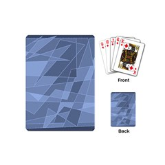 Lines Shapes Pattern Web Creative Playing Cards (mini)