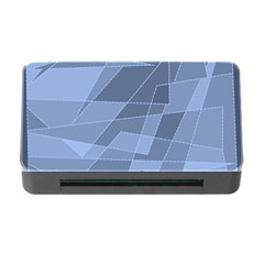 Lines Shapes Pattern Web Creative Memory Card Reader with CF