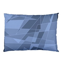 Lines Shapes Pattern Web Creative Pillow Case (two Sides)