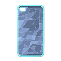 Lines Shapes Pattern Web Creative Apple Iphone 4 Case (color)