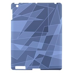 Lines Shapes Pattern Web Creative Apple Ipad 3/4 Hardshell Case