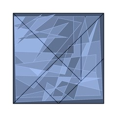 Lines Shapes Pattern Web Creative Acrylic Tangram Puzzle (6  X 6 )