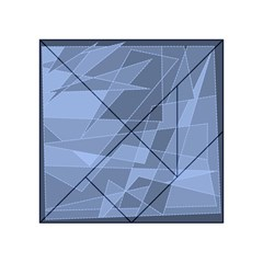 Lines Shapes Pattern Web Creative Acrylic Tangram Puzzle (4  X 4 )