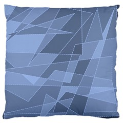 Lines Shapes Pattern Web Creative Large Cushion Case (two Sides)