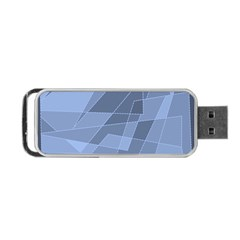 Lines Shapes Pattern Web Creative Portable Usb Flash (two Sides)