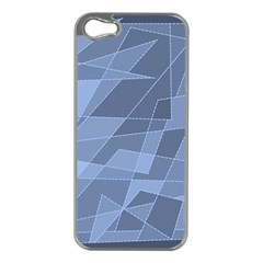 Lines Shapes Pattern Web Creative Apple Iphone 5 Case (silver)
