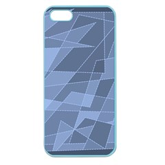 Lines Shapes Pattern Web Creative Apple Seamless Iphone 5 Case (color)