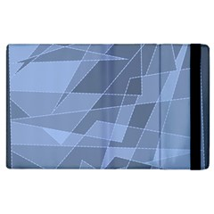 Lines Shapes Pattern Web Creative Apple Ipad 3/4 Flip Case