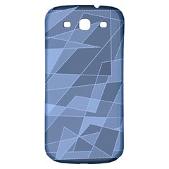 Lines Shapes Pattern Web Creative Samsung Galaxy S3 S Iii Classic Hardshell Back Case