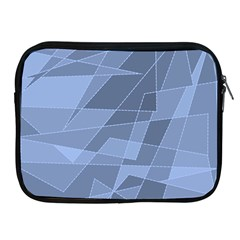 Lines Shapes Pattern Web Creative Apple Ipad 2/3/4 Zipper Cases