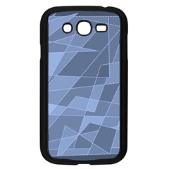 Lines Shapes Pattern Web Creative Samsung Galaxy Grand Duos I9082 Case (black)