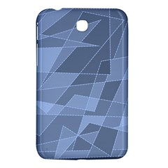 Lines Shapes Pattern Web Creative Samsung Galaxy Tab 3 (7 ) P3200 Hardshell Case